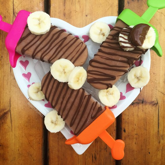 Healthy Protein Fudgsicles