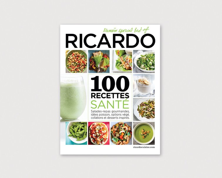 RICARDO 100 BEST HEALTHY RECIPES
