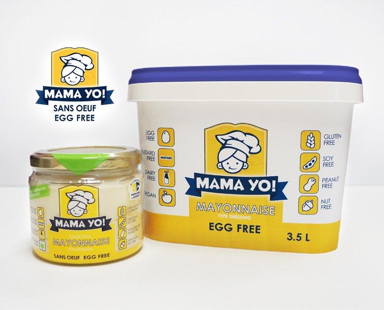 Mayonnaise sans oeuf Mama Yo ! – Pur Nectar
