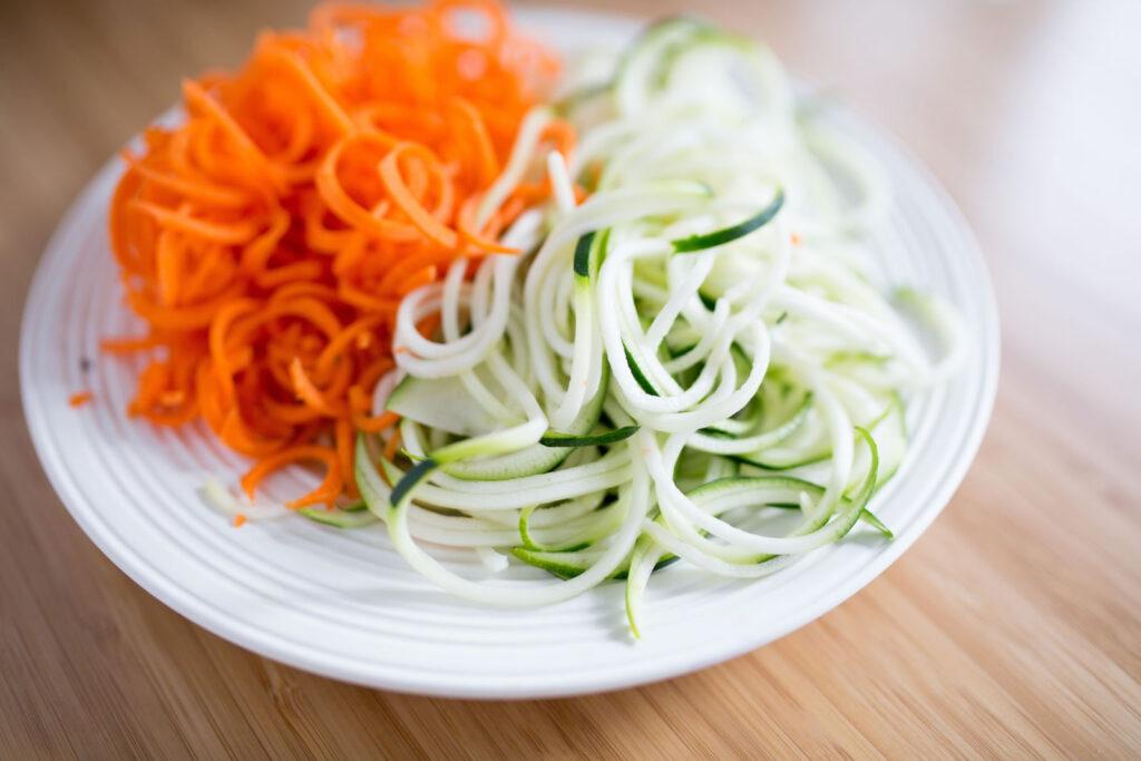 Légumes au déjeuner
