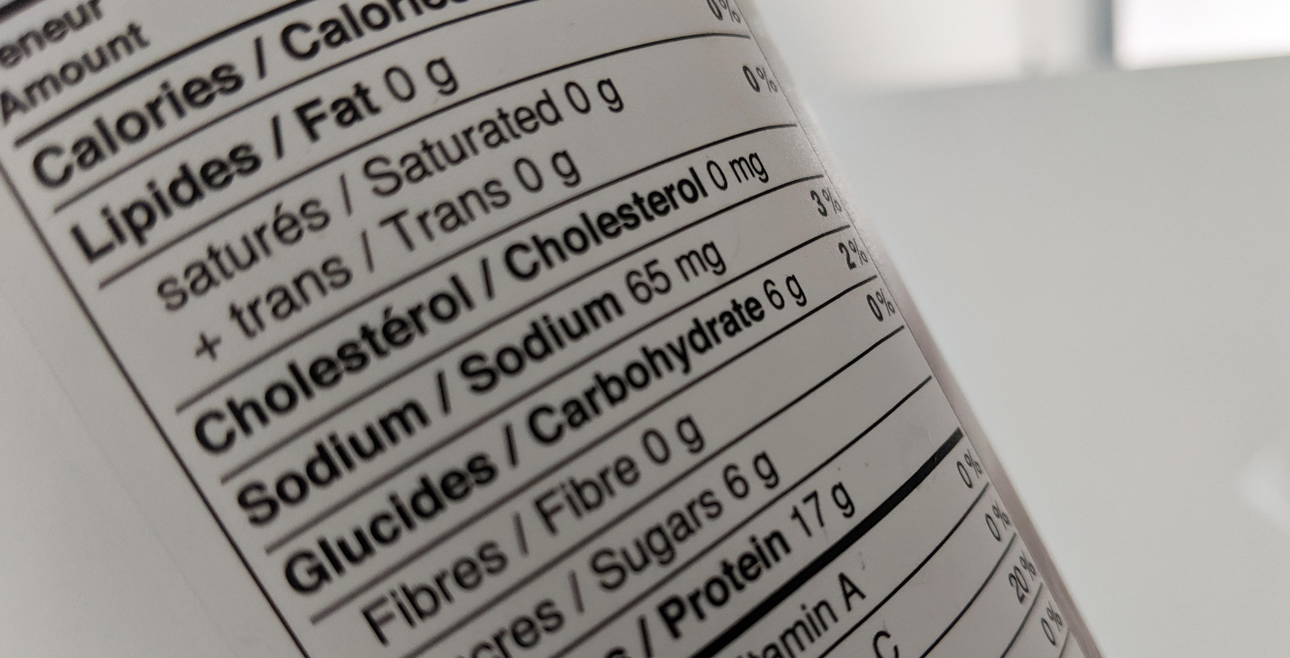 Quelle est la signification du «ET/OU» dans une liste d'ingrédient?