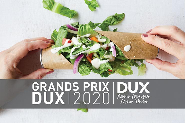 GRANDS PRIX DUX 2020 : DÉCOUVREZ LES PRODUITS ET PROJETS GAGNANTS 2020 !