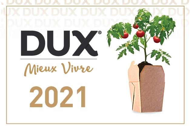 Dévoilement des lauréats DUX Mieux Vivre 2021